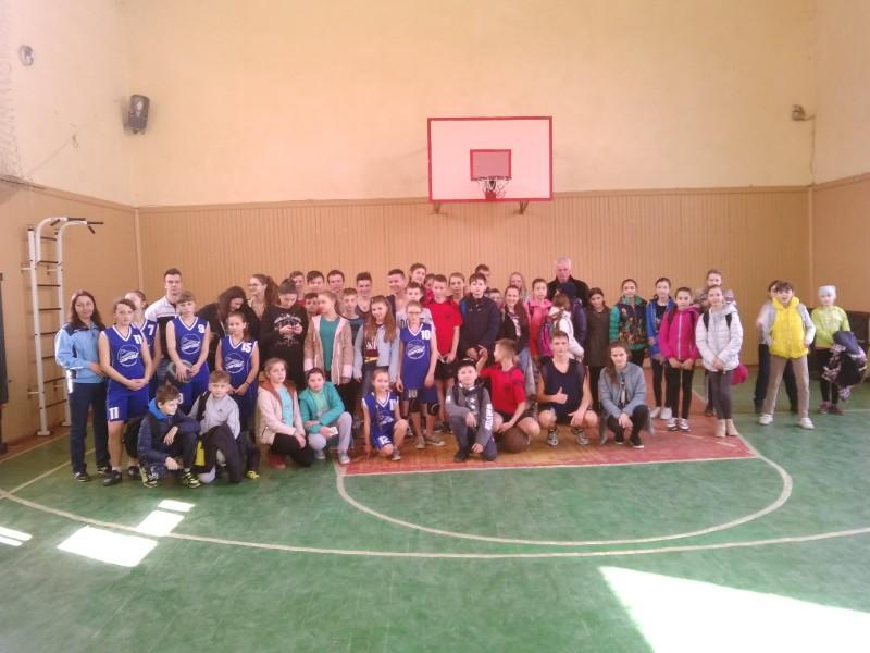 На Виноградівщині відбулися змагання з баскетболу