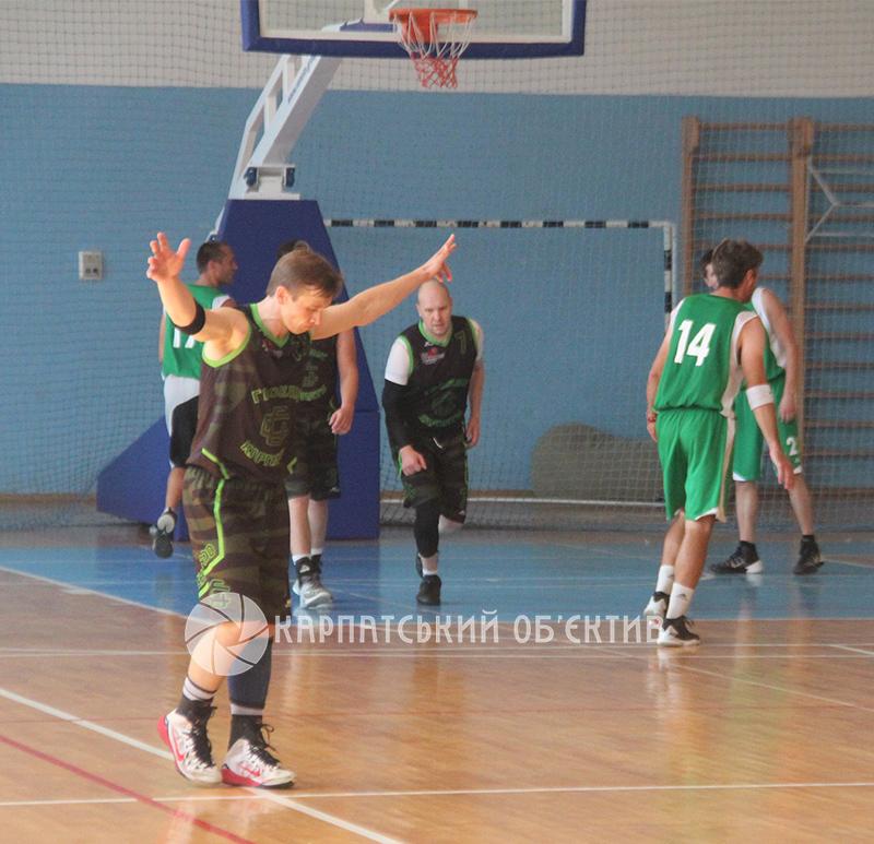 Розіграли звання чемпіона Закарпаття з баскетболу