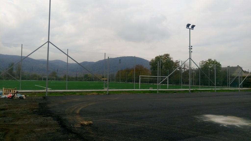 У Хусті триває реконструкція стадіону «Карпати»