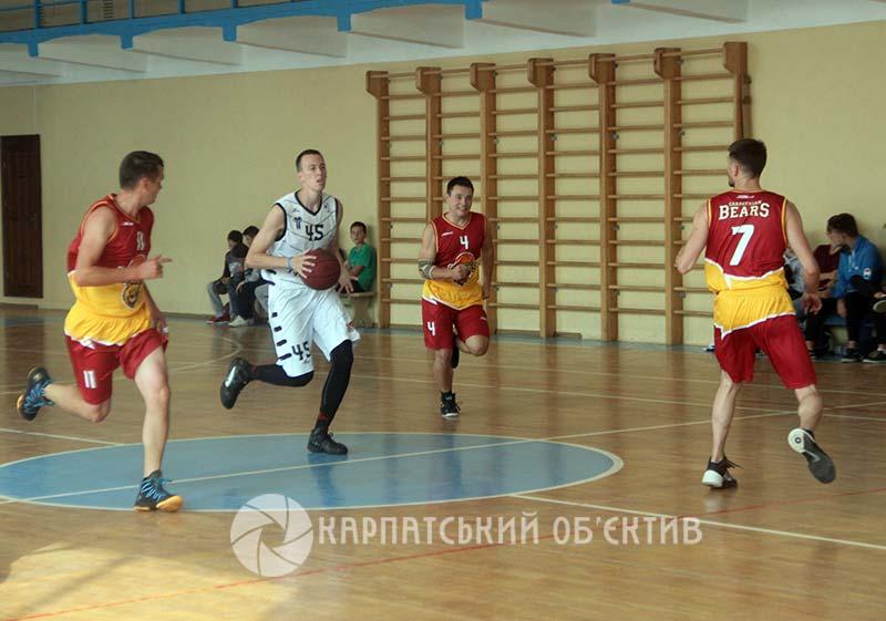 Закарпатські баскетболісти вийшли на старт