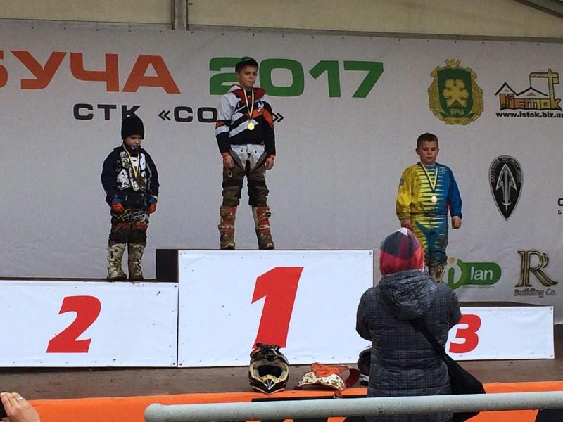 Команда Закарпатської ОДЮСШ – віце-чемпіон Кубка України з мотокросу. ФОТО