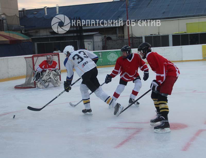 Хокейний вікенд в Ужгороді: яскраво, драматично та несподівано. ФОТО