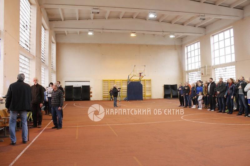 У Мукачеві проходить Міжнародний Різдвяний турнір з баскетболу
