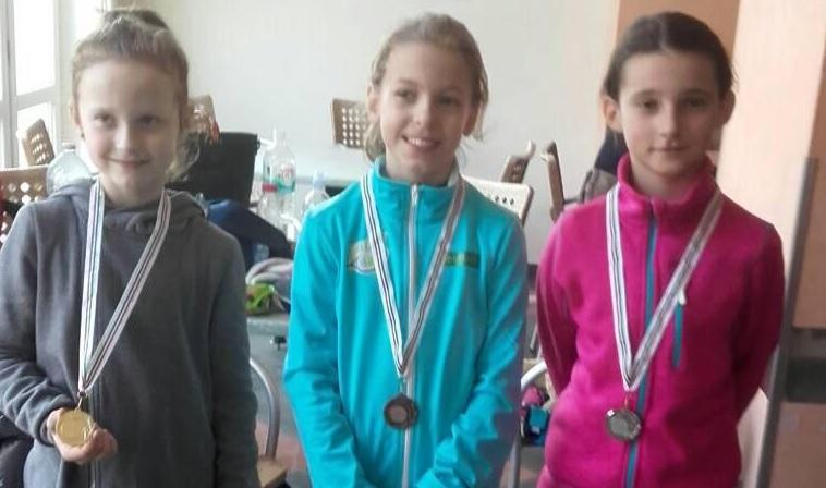 Юна тячівська тенісистка здобула «срібло» на турнірі в Угорщині