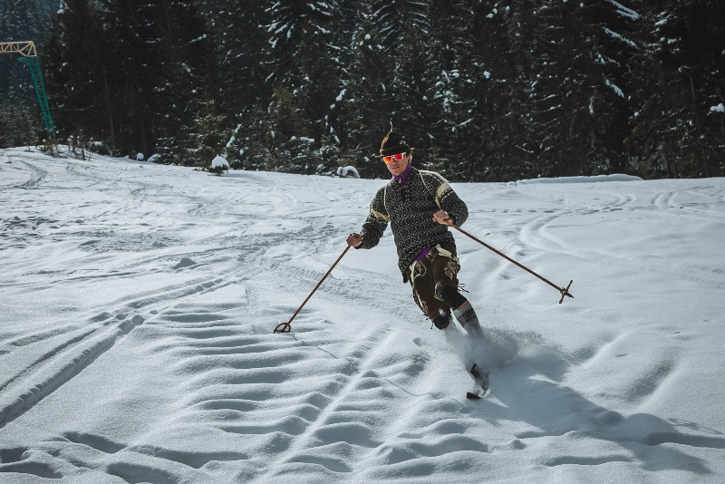На Міжгірщині провели яскравий лижний фестиваль