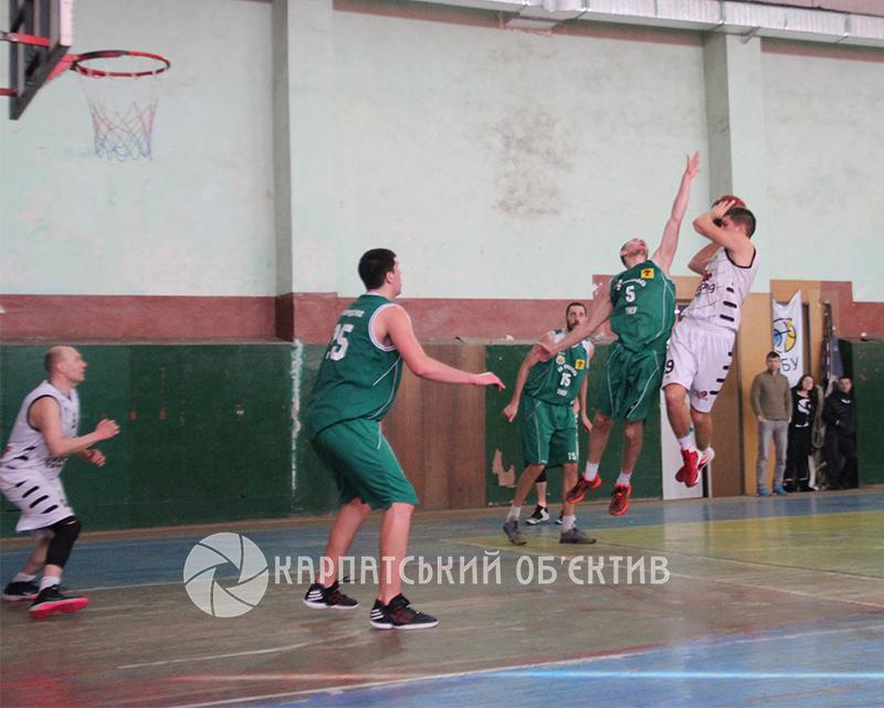 Ужгородські баскетболісти були близькими до міні-сенсації