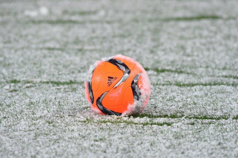 Orange-Ball-Snow-Soccer