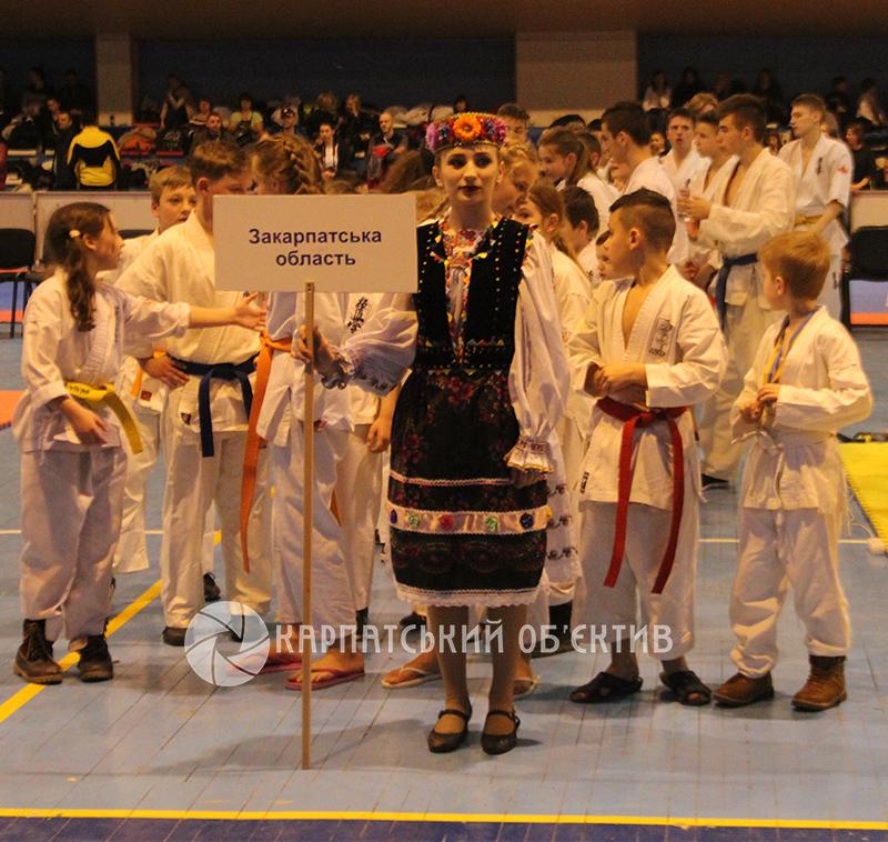 В Ужгороді проходить чемпіонат України з годзю-рю карате