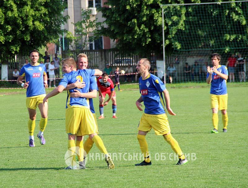 Вища ліга Закарпаття: команди продемонстрували результативний футбол