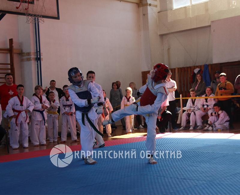 Ужгородці успішно виступили на відкритому турнірі з тхеквондо