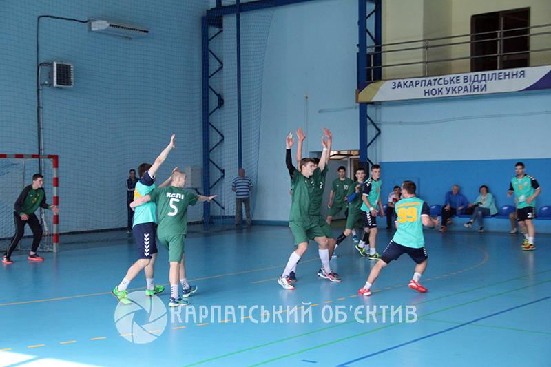 Закарпатські гандболісти стали чемпіонами України