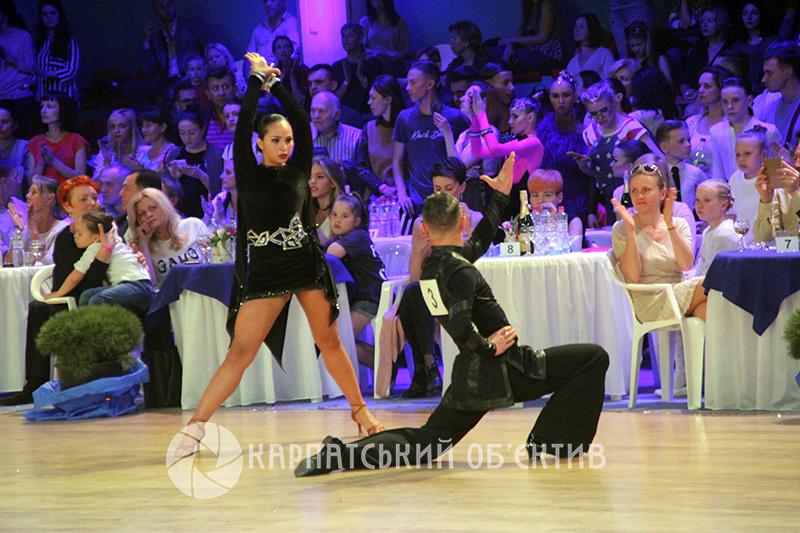 В Ужгороді відбуваються масштабні танцювальні змагання