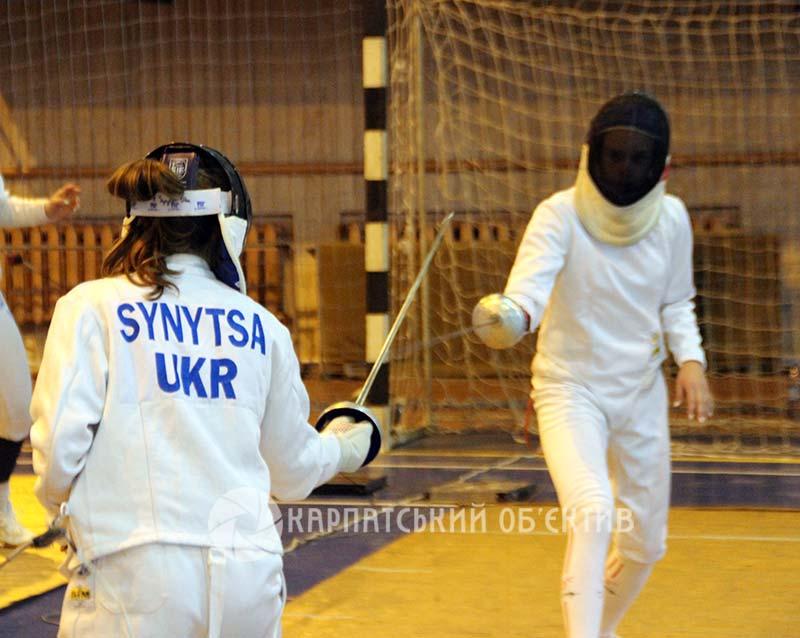 В Ужгороді змагаються фехтувальники із чотирьох країн Європи