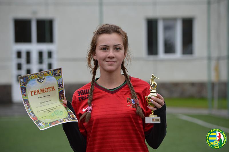 Виноградівська футболістка отримала виклик до лав збірної України