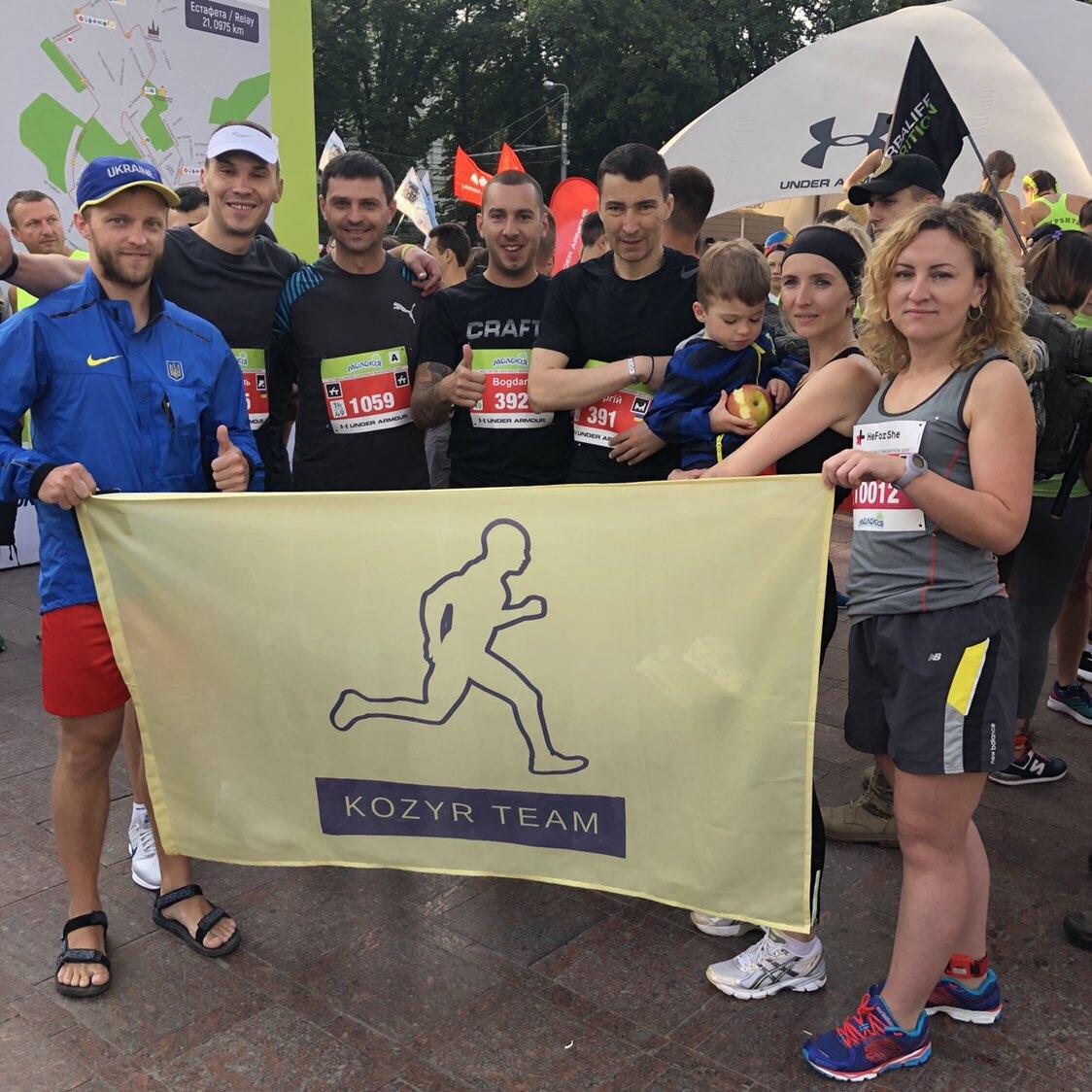 Хустяни взяли участь у масштабному півмарафоні у Львові. ФОТО