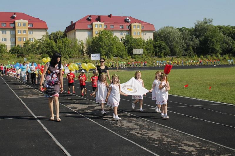 У місті над Латорицею відбувся старт малих Олімпійських ігор
