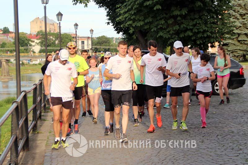 Ужгородці приєдналися до Всесвітнього дня бігу