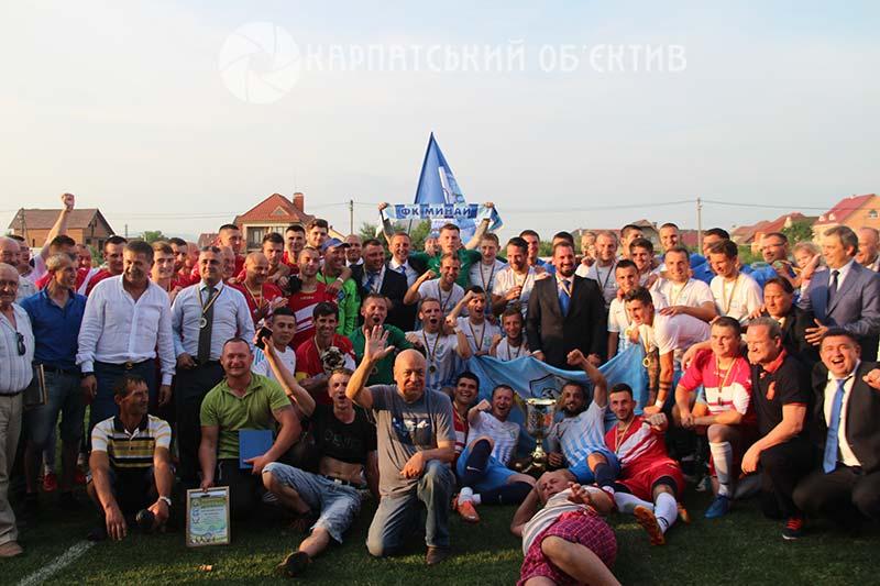 Свято футболу на Ужгородщині