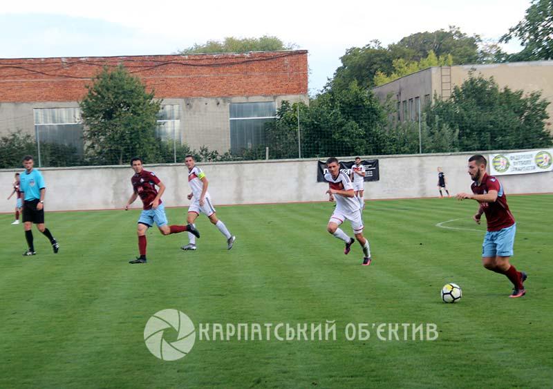 ФК «Ужгород» зазнав нищівної поразки