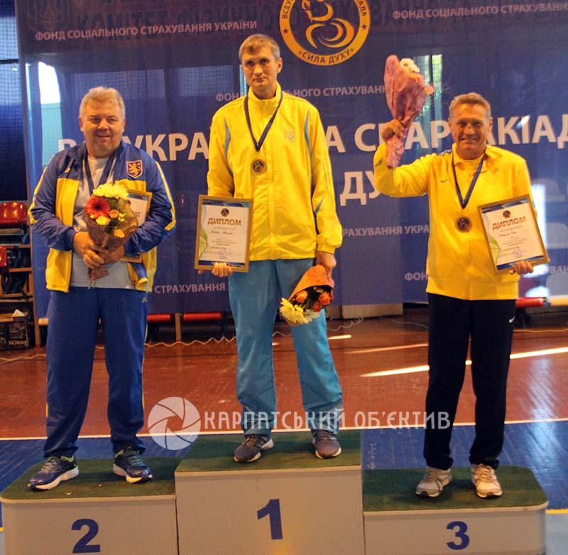 В Ужгороді завершилася Всеукраїнська спартакіада «Сила духу»