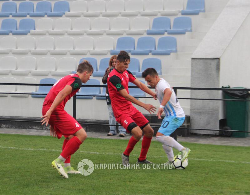 Закарпатська команда вийшла у лідери Другої ліги України