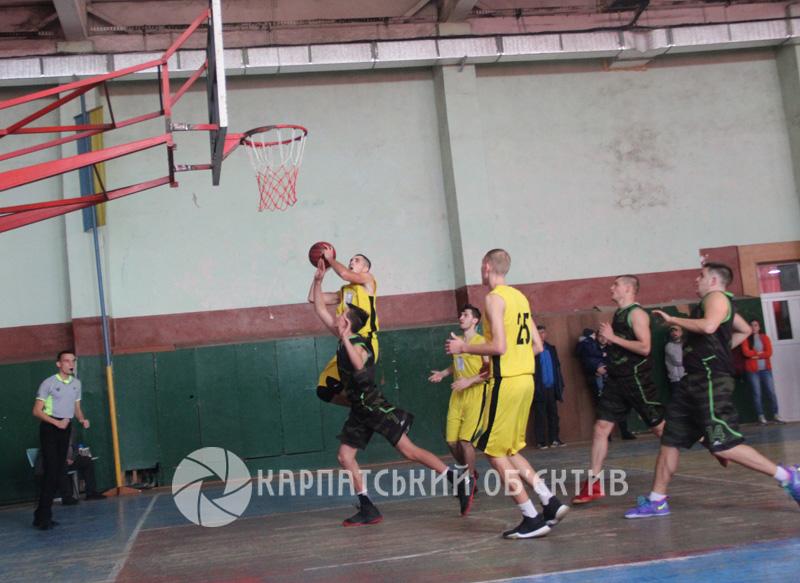 Ужгородські баскетболісти здолали львів'ян