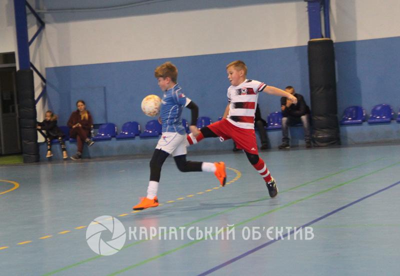 На Закарпатті провели міжнародний дитячий турнір з міні-футболу