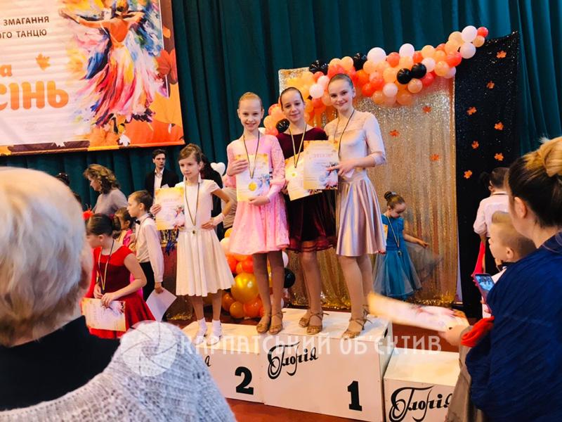 Хустські «елітівці» успішно виступили на Всеукраїнських змаганнях зі спортивного танцю. ФОТО