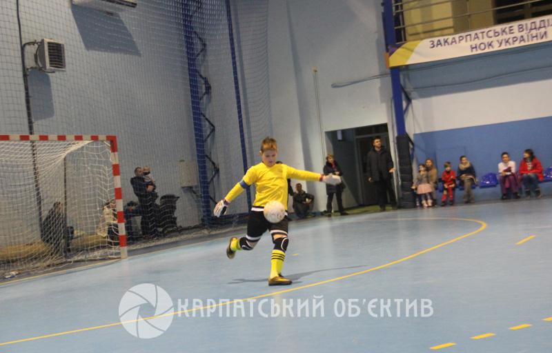 Ужгородська СДЮСШОР – переможець міні-футбольного турніру пам'яті Володимира Югаса