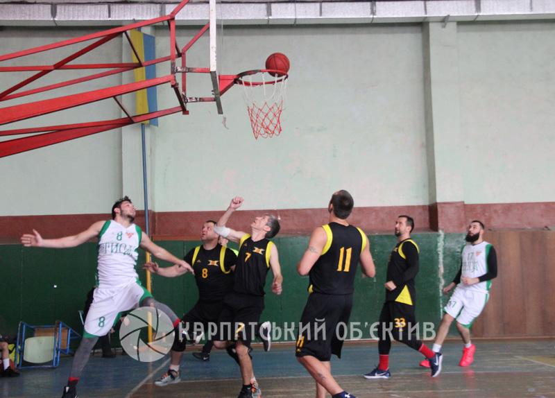 Чемпіонат Закарпаття з баскетболу: огляд матчів 5-го туру