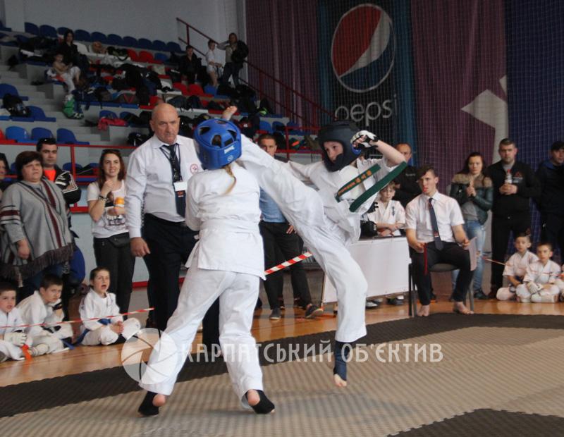 Відкритий чемпіонат Закарпаття з кіокушин карате WKB. Фото
