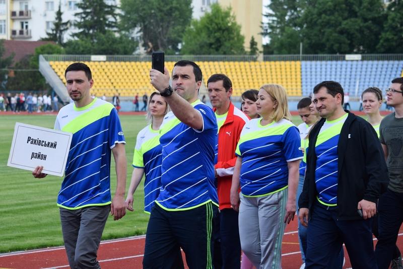 В Ужгороді відбулася обласна спартакіада медиків. ФОТО
