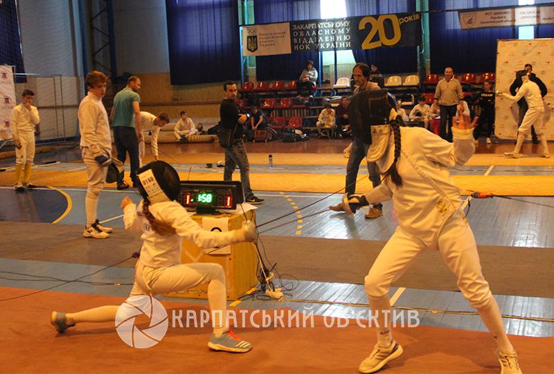 На Закарпатті відбувається престижний міжнародний турнір з фехтування. ФОТО
