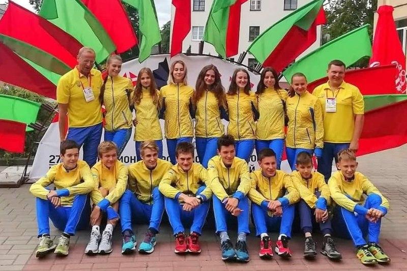 Українці змагалися на юніорському чемпіонаті Європи зі спортивного орієнтування. ФОТО