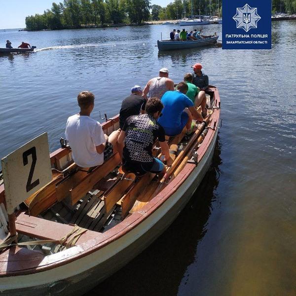 Закарпатські силовики посіли друге загальнокомандне місце з морського багатоборства