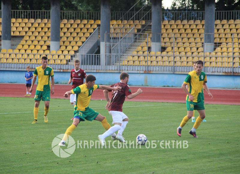 ФК «Ужгород» зазнав поразки в рідних стінах. ФОТО