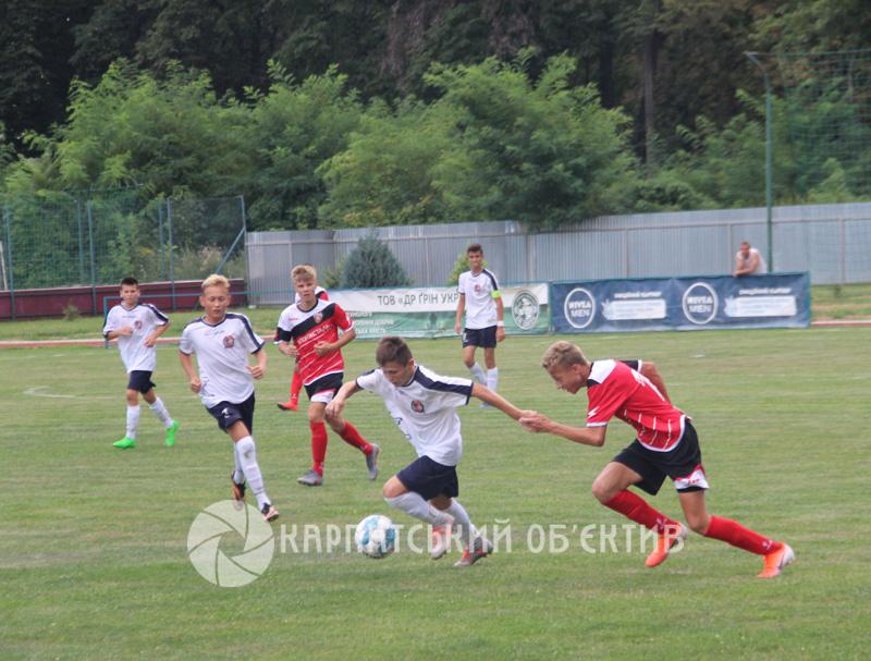 Стартував VI міжнародний дитячо-юнацький турнір з футболу на честь Андрія Гаваші