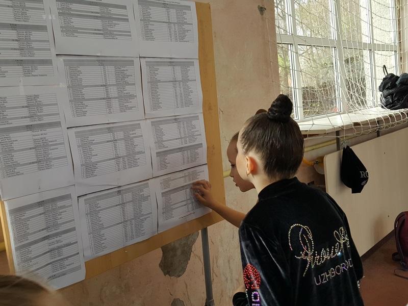 Змагання граційних та гнучких: першість з художньої гімнастики в Мукачеві. ФОТО