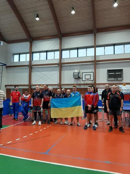 Закарпатські параолімпійці командно перемогли у міжнародному турнірі з настільного тенісу в Чехії