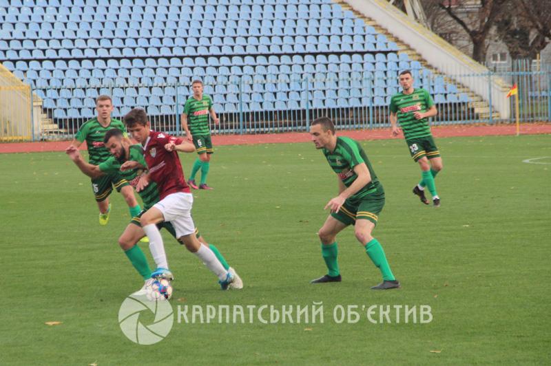 ФК «Ужгород» вшосте поспіль зазнав поразки
