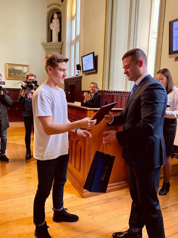 У Мукачеві відзначили спортсменів міста