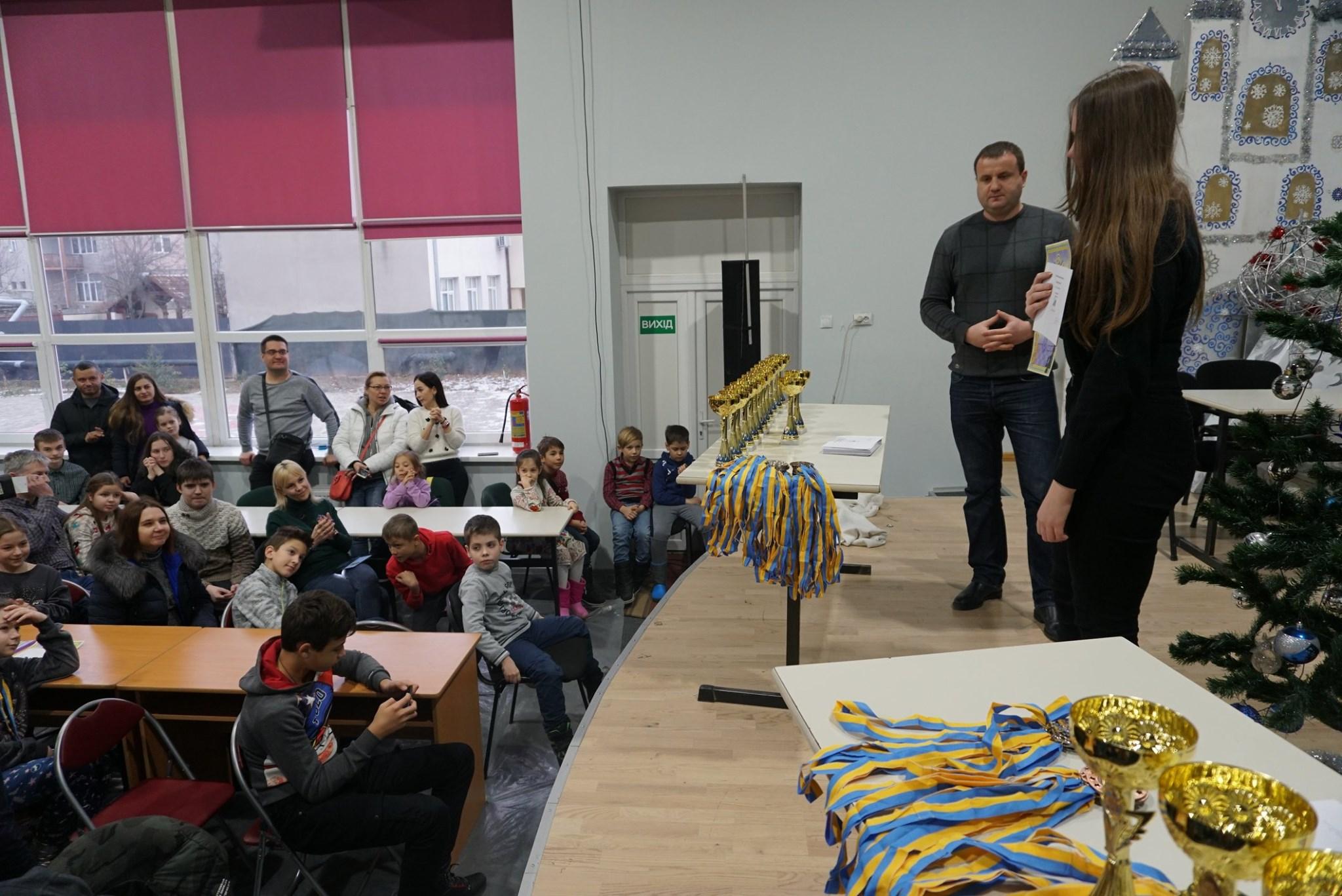 Перемогу на шаховому фестивалі «Різдвяне Мукачево 2020» здобув майстер спорту із Львівщини