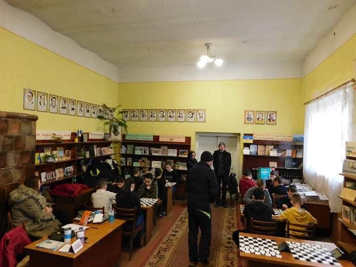 У Берегові відбулася відкрита першість шахового клубу «Джокер» з шашок-64